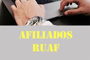 Consulta Ruaf Afiliados 2